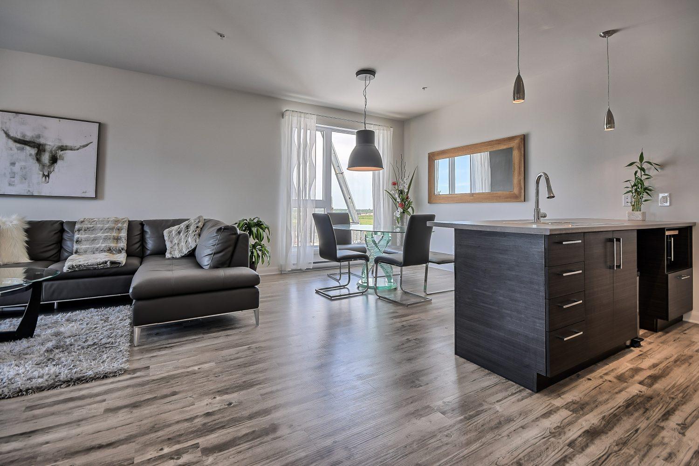 Condos 3 chambres neufs a louer à Mascouche - Notre Projet QUARTIER 7